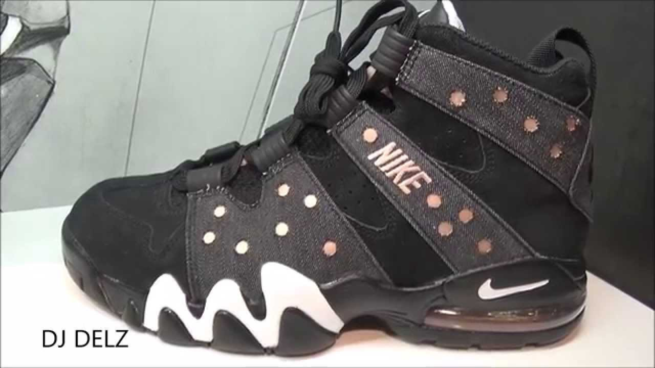 4d5cf8f197 Nike Air Max CB 94 Charles Barkley Denim/Copper QS Sneaker - YouTube