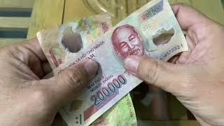 Clip Hot | Cách Phân Biệt Tiền Giả 200 Nghìn Và 500 Nghìn Đồng