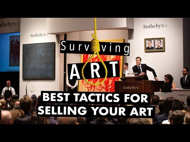 Best tactics for selling your art