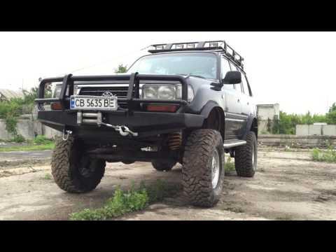 ОБЗОР Land Cruiser 80  мотор 4.5 бензин,механика,мосты Volvo c303.