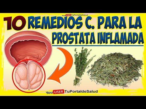 como se cura la próstata inflamada