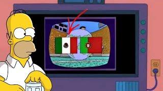 ¡Los Simpson Predicen la FINAL del Mundial Rusia 2018 y México está en Ella!