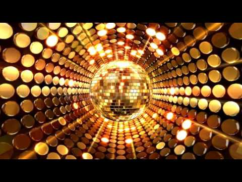 Gold Disco Ball Background. Video footage on Videohive.net ...