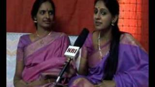 Ranjani-Gayatri Interview at News Reel India (Part 1)