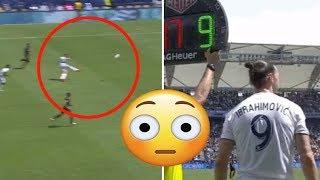 Zlatan Ibrahimovic Scores 35 Yard Screamer And The Winner On LA Galaxy Debut