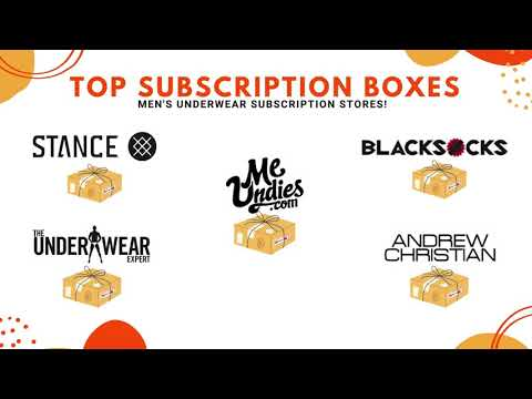 5 Best Underwear Subscription Boxes For Men - Coupons Included