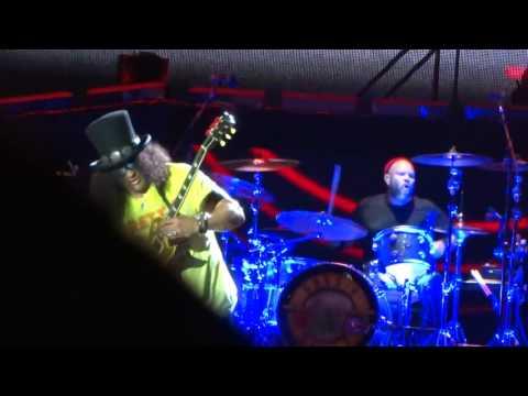 GNR Slash & Frank Ferrer Metlife Stadium 7/24/16