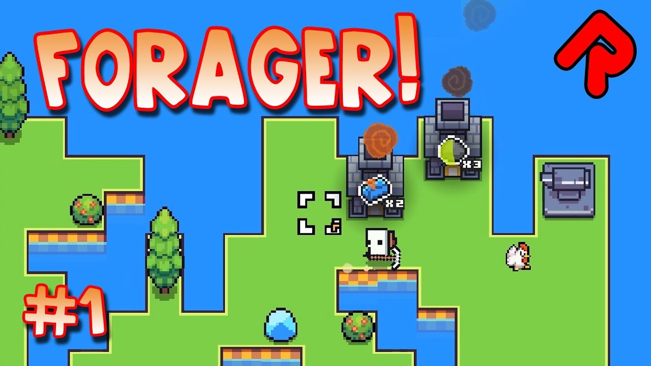 Forager Game Super Cute Island Survival Let S Play