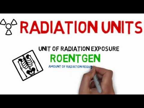 Radiology tutorials: Units of Radiation (Medical Animated Tutorials) ~ Cooldude5757