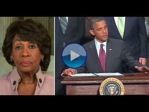 Maxine Waters Just Exposed Trump's Plan To End Obama's Economic Recovery