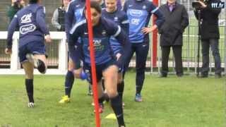 France - Brésil Féminines : les Bleues à l'entraînement