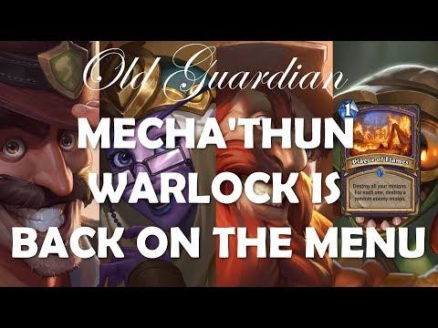 Mecha'thun Warlock is back in Saviors of Uldum card review (Hearthstone)