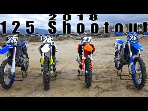 2018 125 2 Stroke Shootout - Dirt Bike Magazine