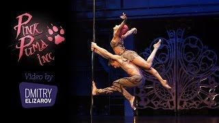 Polina Volchek (Pink Puma) & Dimitry Politov pole dance 2016