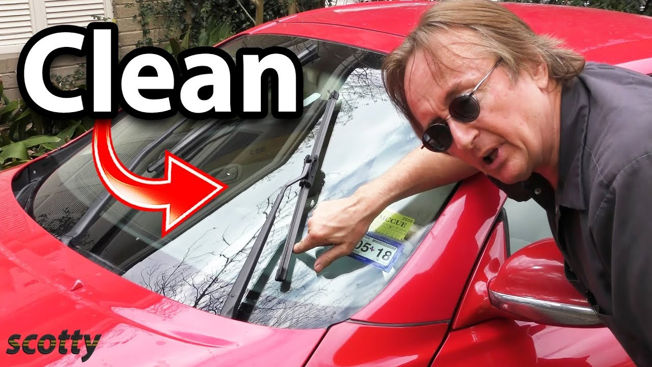 Life Hack That Will Keep Your Car's Windshield Clean Forever