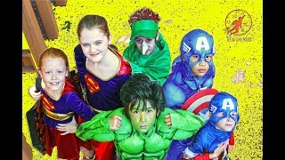 Little Superheroes - Super Squad Halloween Special with Captain America and Supergirl