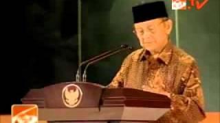 B. J. Habibie - Pidato Hari Pancasila 2011