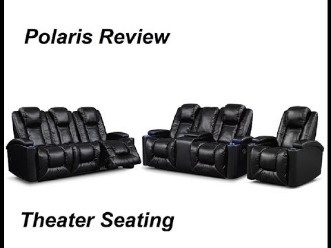 gladiator power dual reclining sofa reviews cheap large corner bed theater seating review youtube