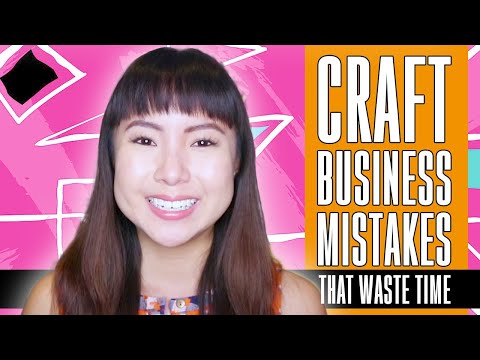 🛑 STOP Wasting Time In Your Craft Business TODAY 👇