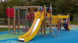 Vlog.Эльвира играет на детской площадке на Гринвич.Развлечение для детей.