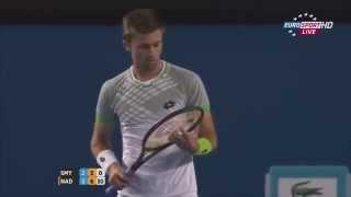 Smyczek Fair Play VS Nadal - Australian Open 2015