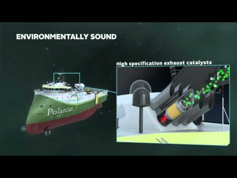 Polarcus Amani Next generation Seismic Vessel