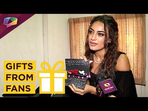 Surbhi Jyoti Receives Birthday Gifts From Her Fans