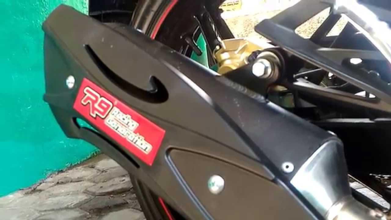 Review Suara Knalpot R9 Misano On Jupiter Mxking Full System All Type Klx 250 New Mugello Black Klx250