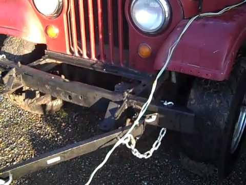Elegant My Jeep Tow Bar