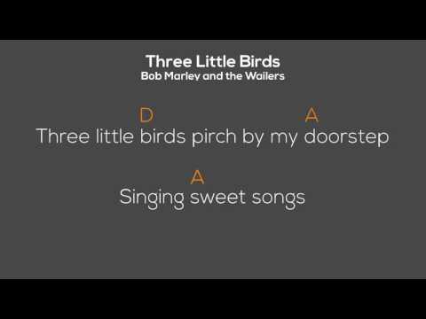 Three Little Birds - Bob Marley - Chordoke (Chords + Lyrics)
