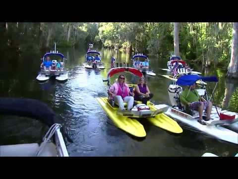 Small Boat Tours - CraigCat Tours In Mt. Dora Florida! | Small High Performance Powerboats