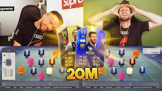FIFA 19: 20 MIO SQUAD BUILDER BATTLE vs STYLO 😱🔥