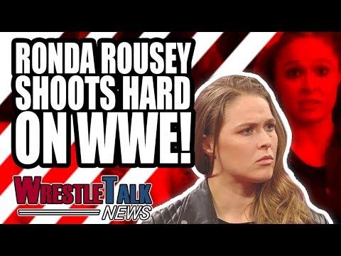 Wrestling Legend RETIRING! Ronda Rousey SHOOTS HARD On WWE!   WrestleTalk News Mar. 2019