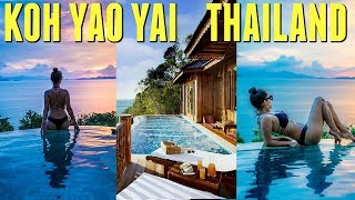 Private Island Pool Villa | Koh Yao Yai, Thailand Travel VLOG SANTHIYA Resort