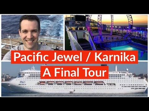 Pacific Jewel Final Cruise And Ship Tour 2019 (Ship Is Now Jalesh Cruises' Karnika)