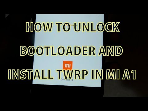 How To Unlock Bootloader & Flash TWRP in MI A1 Unofficially | Detailed Guide | Hindi |