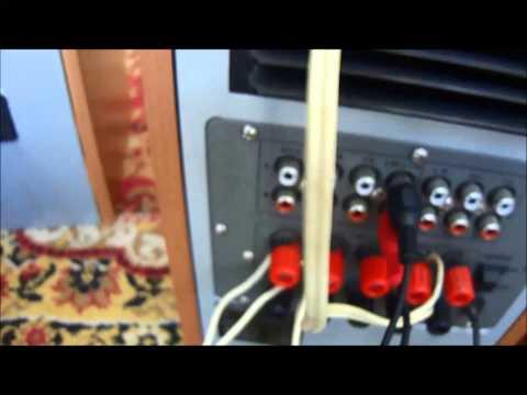 Видео о том как подключить буфер и колонки к ноутбуку или компьютеру.