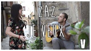 JE VEUX ZAZ | Chiara Stroia Vincenzo Icastico Guitar Voice Cover Swing French Jazz #MVC