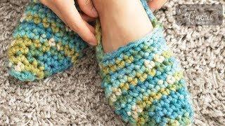 Gambar cover Crochet Quickie Slippers