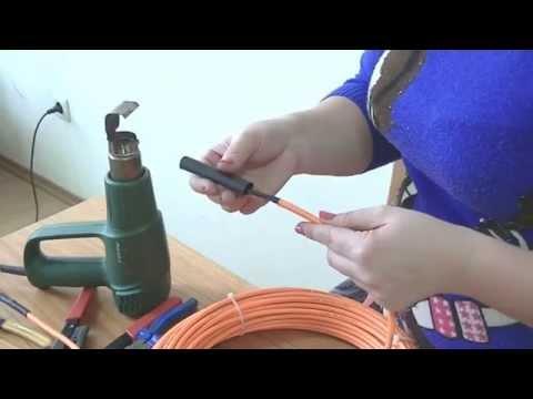 видео: Набор конструктор - теплый пол своими руками