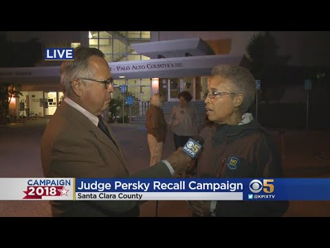 Campaign Against Recall Of Judge Aaron Persky All But Concedes