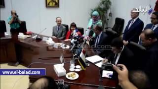 بالفيديو والصور.. توقيع مذكرة تفاهم بين متحف الفن الإسلامي واللوفر الفرنسي