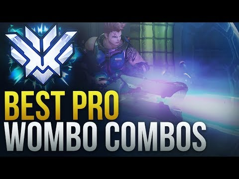 BEST PRO WOMBO COMBOS IN OVERWATCH - Overwatch Montage thumbnail