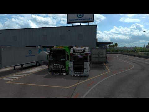 Стрим #217 Euro Truck Simulator 2 Multiplayer