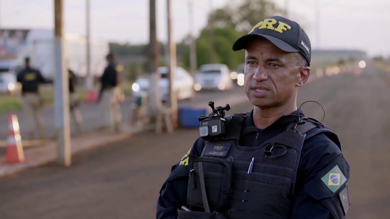 Casal e filha detidos - Polícia Rodoviária Federal