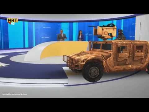 هامەرو فڕۆکەی شەڕ لە ستۆدیۆی ئێن ئاڕ تی - NRT NEWS HD 3D VEDIO