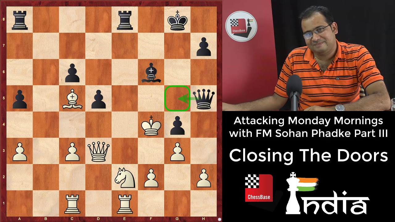 Download Attacking Monday Mornings with FM Sohan Phadke Part III - Closing the doors