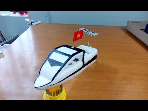 [Tutorial] How To Make Super Speed Boat, DIY Boat RC