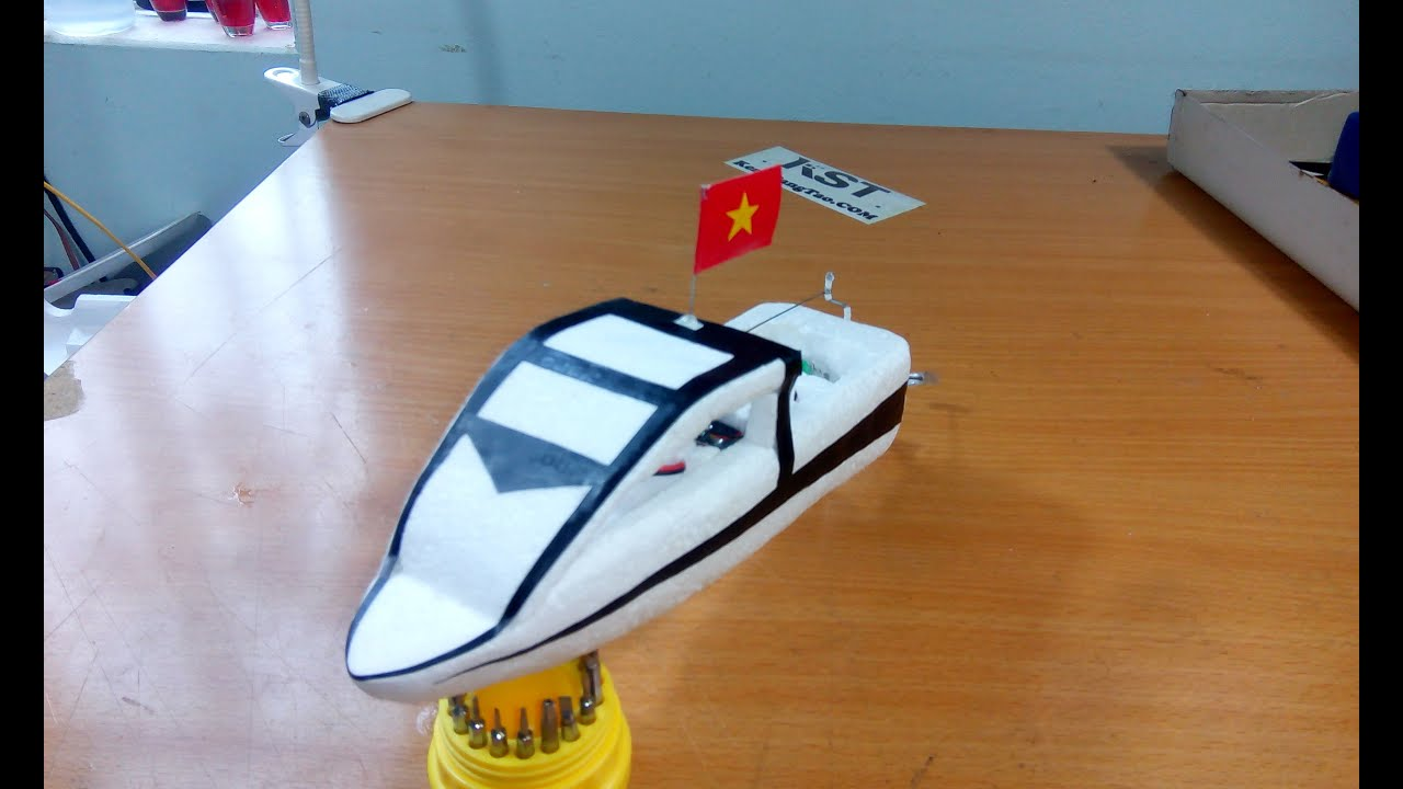 Tutorial How To Make Super Speed Boat Diy Boat Rc Youtube