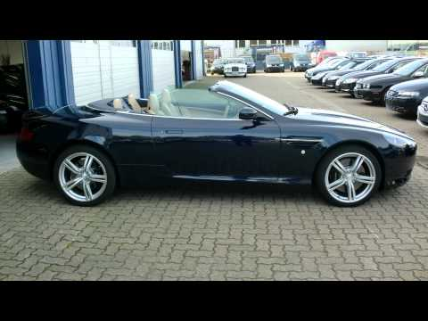 aston martin db9 cabrio video watch now. Black Bedroom Furniture Sets. Home Design Ideas